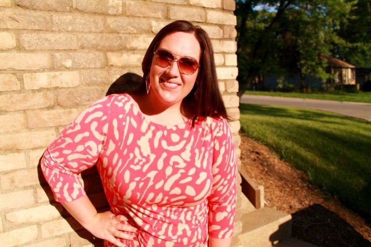 Curvy in Kansas City - Dressbarn bodycon dress