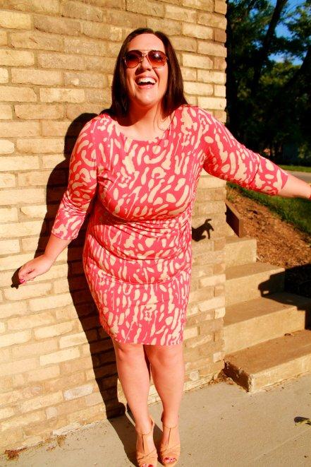 Dressbarn bodycon print dress - Curvy in Kansas City