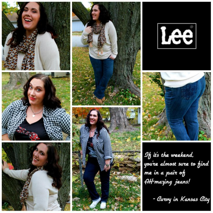 Lee Jeans Collage - Curvy in Kansas City