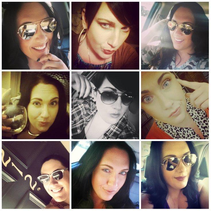selfie collage