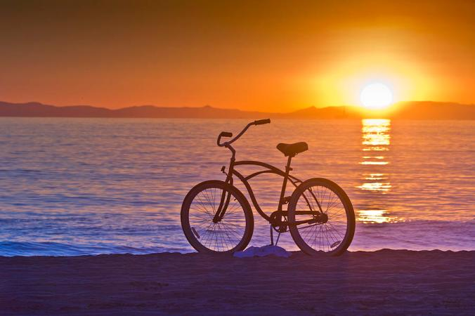bike-at-sunset-in-newport-beach-harald-vaagan-